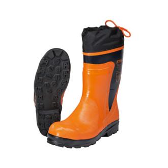 Motorsägen-Stiefel und Arbeitsschuhe