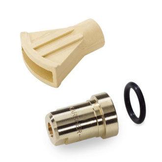 Dampfstrahldüse / Düsenschutz / Kugeldüsenträger