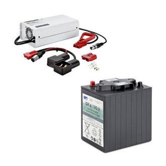 Antriebsbatterien und Ladegeräte